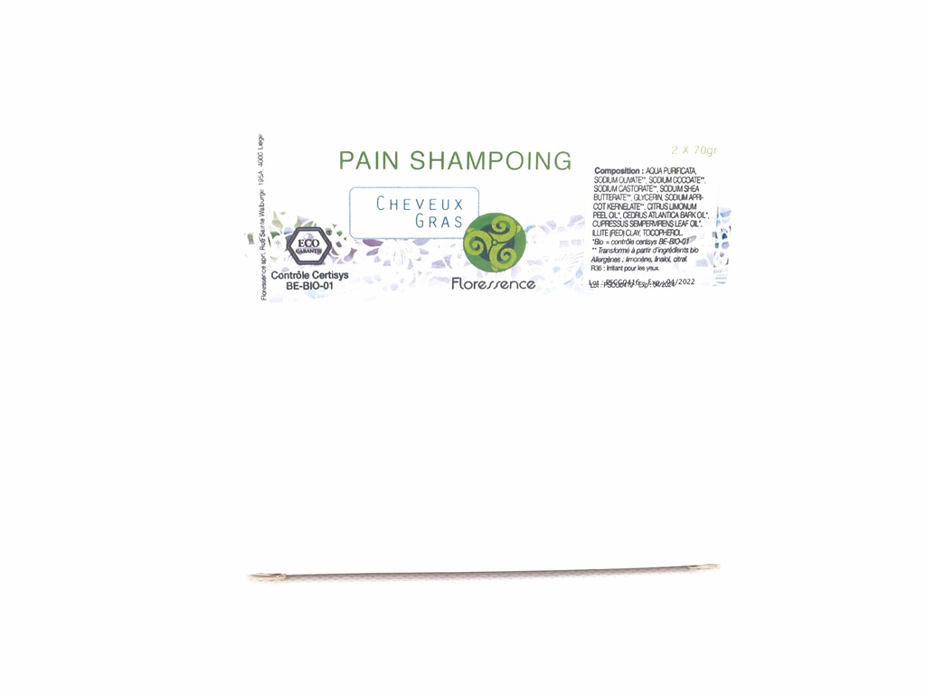 Pain shampoing Bio HE Cheveux gras 2X