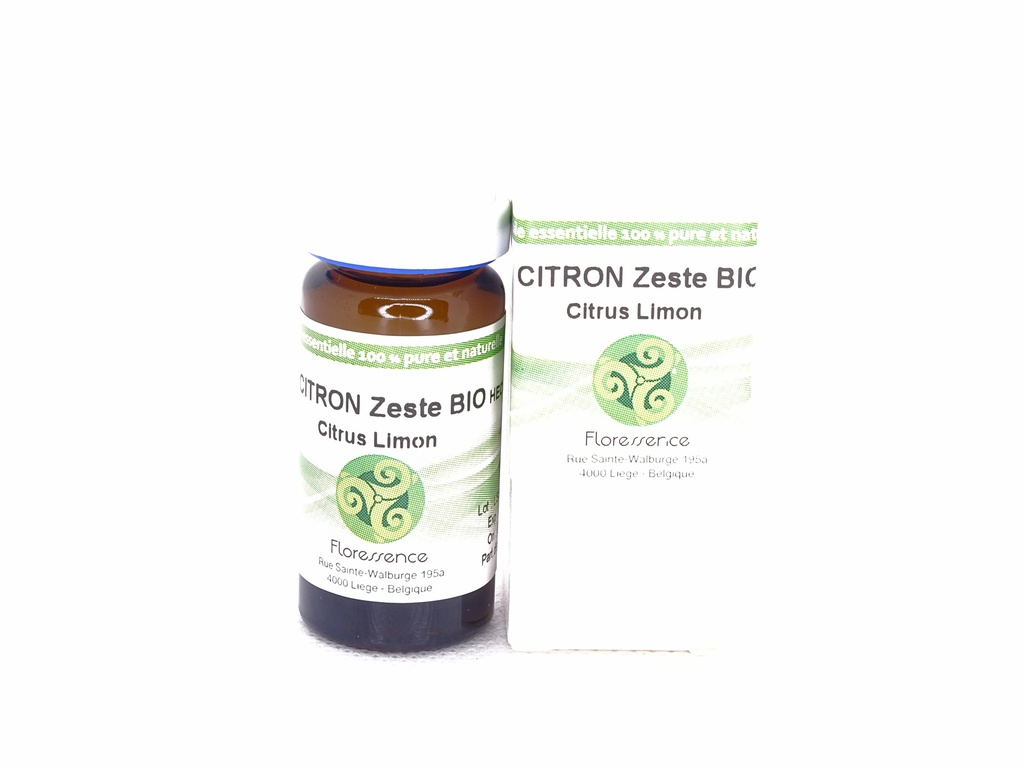 Citron (citrus limon) zeste Bio 10ml